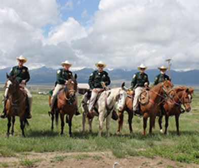 Custer Mounted Posse